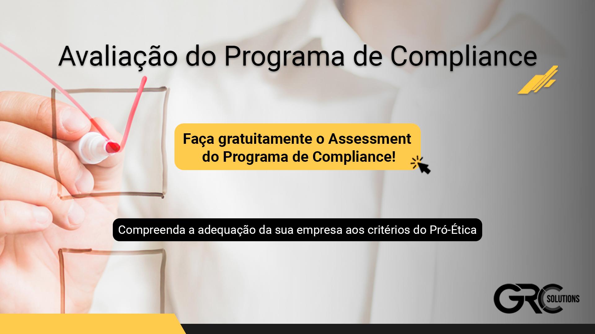 avaliação programa de compliance